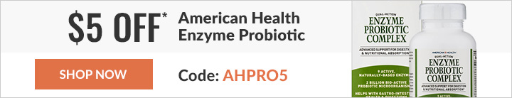 $5 off* American Health Enzyme Probiotic