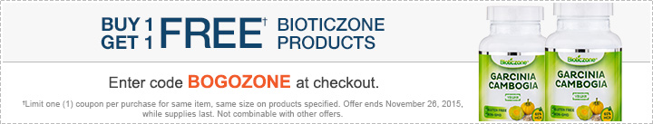 B1G1 FREE Bioticzone products!
