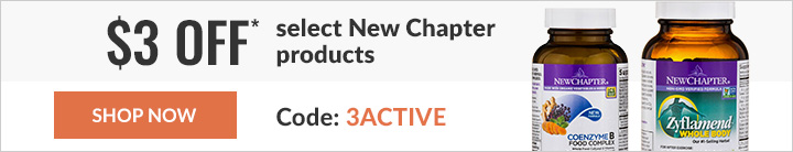 $3 off* select New Chapter products