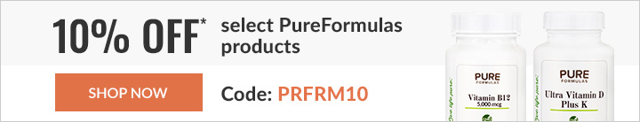 10% off select PureFormulas products