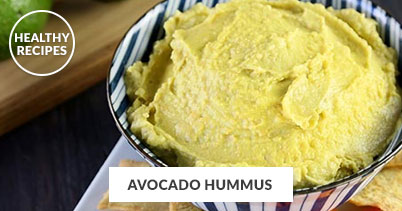 Healthy Recipes - Avocado Hummus