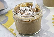 Almond Cocoa Protein Mousse