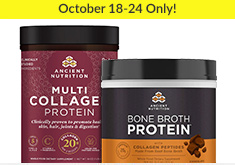 Ancient Nutrition - Oct  18-24