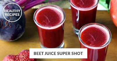 Healthy Recipes - Beet Juice Super Shot