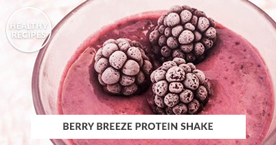 Healthy Recipes - Berry Breeze Protein Shake