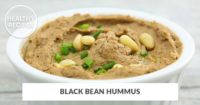 Healthy Recipes - Black Bean Hummus