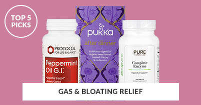 Top 5 Picks - Gas & Bloating Relief