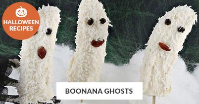 Halloween Recipe Favorites: Boonana Ghosts