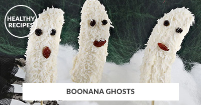Healthy Recipes - Boonana Ghosts