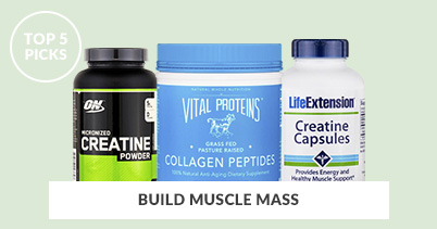 Top 5 Picks To Build Muscle Mass