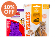 BUY 3 & SAVE 10% on SELECT CAT PRODUCTS