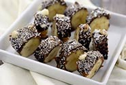 Chocolate Banana Chia Seed Bites