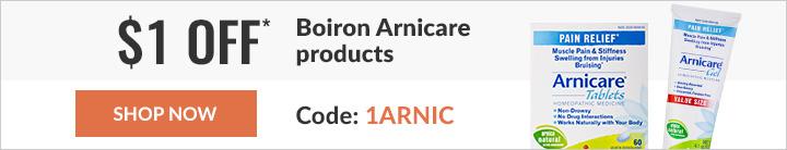 $1 off Boiron Arnicare