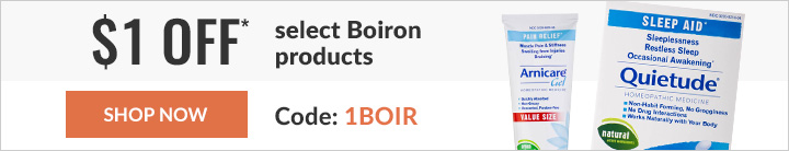 $1 OFF SELECT BOIRON PRODUCTS