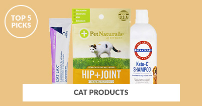 Top 5 Picks - Cat Products