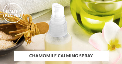 Healthy Recipes - Chamomile Calming Spray
