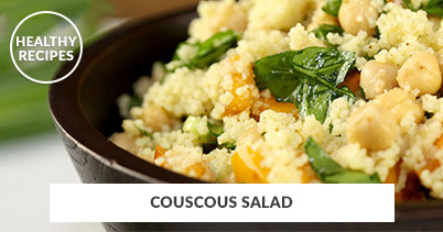 Healthy Recipes - Couscous Salad