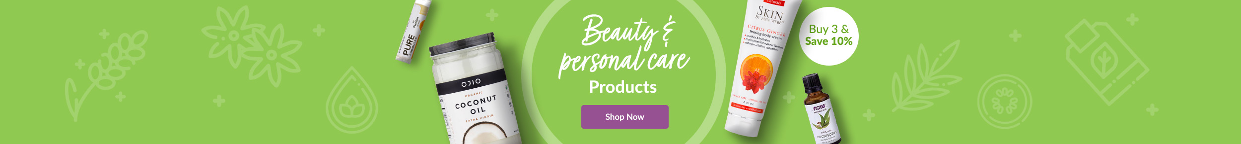 Personal Care Essentials - Choose Your Fragrance. Buy 3 & Save 10%