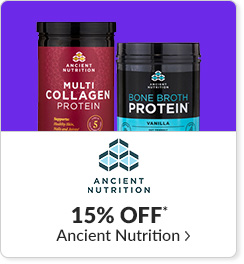 15% off* all Ancient Nutrition products - Code: CYBERAN