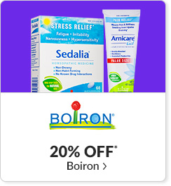 20% off* all Boiron products - Code: CYBERBRN