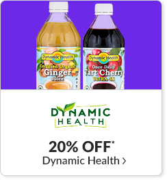 20% off* all Dynamic Health products - Code: CYBERDH