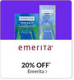 20% off* all Emerita products - Code: CYBEREM