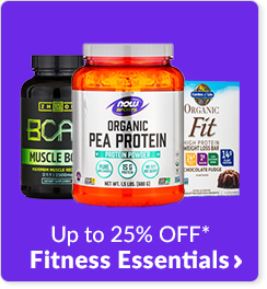 Up to 25% off* Fitness Essentials