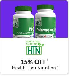 15% off* all Health Thru Nutrition products - Code: CYBERHTN