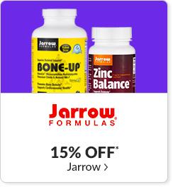 15% off* all Jarrow products - Code: CYBERJRW