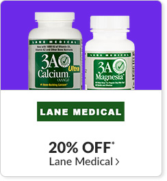 20% off* all Lane Medical products - Code: CYBERLM