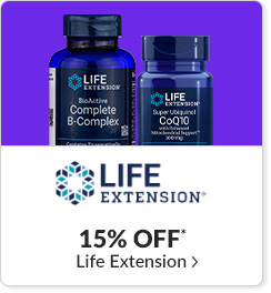 15% off* all Life Extension products - Code: CYBERLE