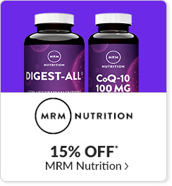 15% off* all MRM Nutrition products - Code: CYBERMRM