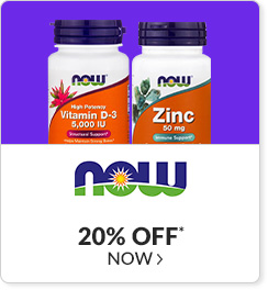 20% off* all NOW products - Code: CYBERNOW
