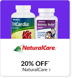 20% off* all Natural Care products - Code: CYBERNC