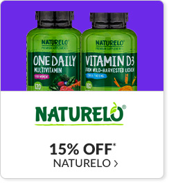 15% off* all NATURELO products - Code: CYBERNTL