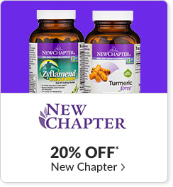 20% off* all New Chapter products - Code: CYBERNWC
