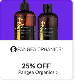 25% off* all Pangea Organics products - Code: CYBERPO