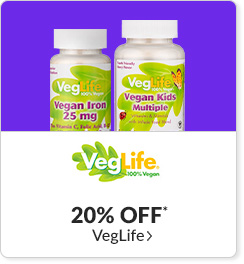 20% off* all VegLife products - Code: CYBERVL