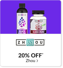20% off* all Zhou products - Code: CYBERZH