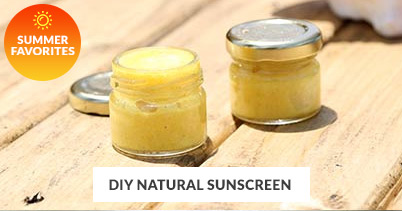Summer Recipe Favorites: DIY Natural Sunscreen