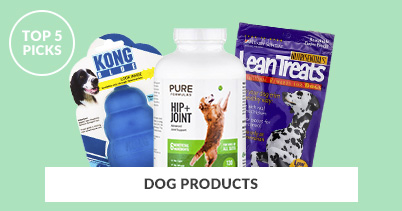 Top 5 Picks - Dog Products