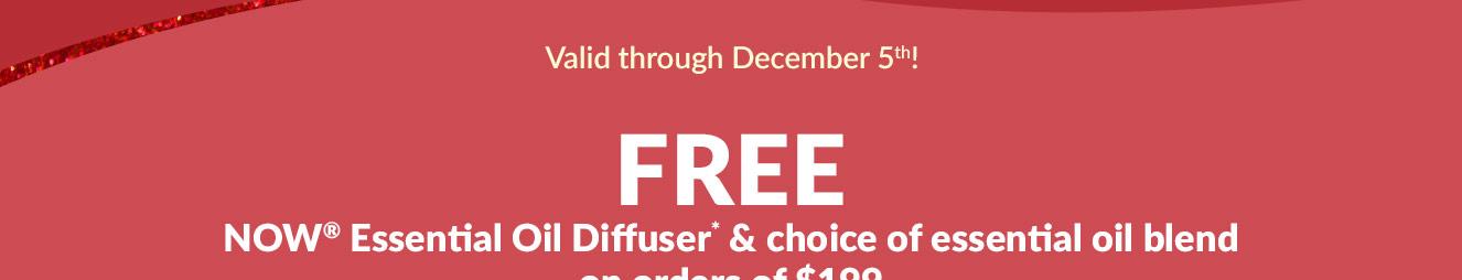 Valid through December 5th!