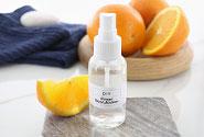 Orange Hand Sanitizer Spray