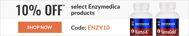 10% off select Enzymedica products
