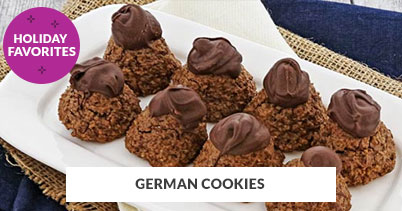 Holiday Recipe Favorites: German Cookies