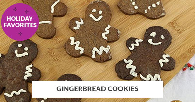 Holiday Recipe Favorites: Gingerbread Cookies