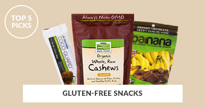 402x211 - Generic - Top 5 Picks Gluten-Free Snacks - 070118