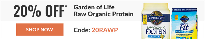 20% off select Garden of Life products