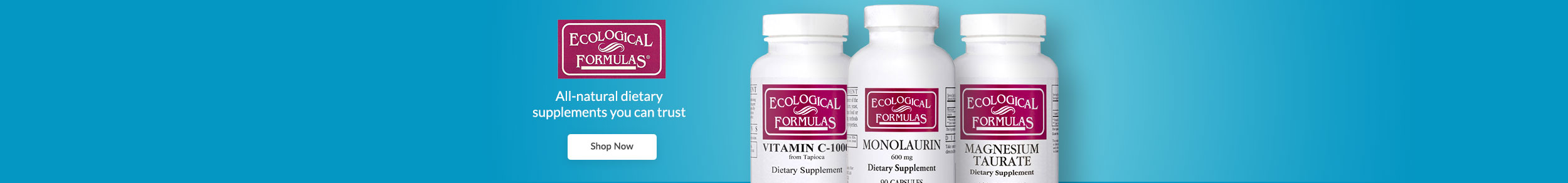 Ecological Formulas - All-natural dietary supplements you can trust