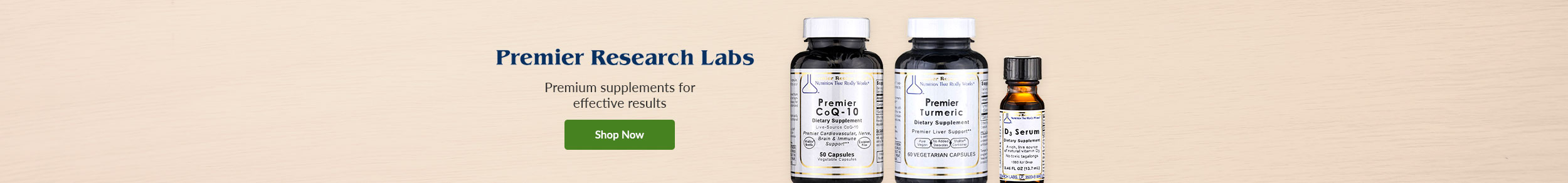 Premier Research Labs - Premium supplements for effective results